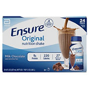 Ensure Original Milk Chocolate Nutrition Shake, 24 pk./8 fl. oz.