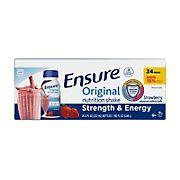Ensure Original Strawberry Nutrition Shake, 24 pk./8 fl. oz.
