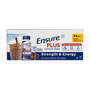 Ensure Plus Milk Chocolate Nutrition Shake, 24 pk./8 fl. oz.