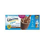 Glucerna Diabetes Nutritional Shake Rich Chocolate Ready-To-Drink Bottles, 24 pk./8 oz.