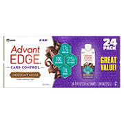EAS AdvantEDGE Carb Control Chocolate Fudge Protein Shake 24 pk./11 fl. oz.