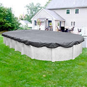 Robelle Ultra 16' x 25' Oval Aboveground Pool Winter Cover - Dove Gray