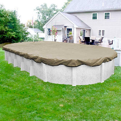Robelle Premium 16' x 25' Aboveground Pool Winter Cover - Tan/Black