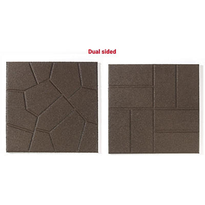 Rubberific Dual Sided Rubber Pavers, 96 ct. - Brown