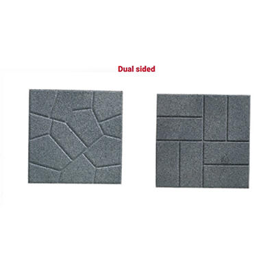 Rubberific Dual Sided Rubber Pavers, 96 ct. - Gray