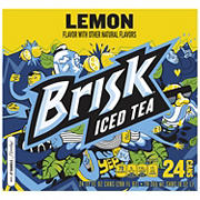 Lipton Brisk Iced Tea, 24 pk./12 oz.