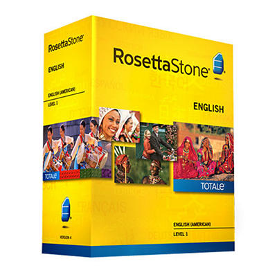 Rosetta Stone English, Level 1, 1 User