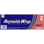 Reynolds Wrap Standard Aluminum Foil, 250 Sq. ft, 2 ct.