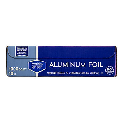 Berkley Jensen Aluminum Foil, 1,000 sq. ft.