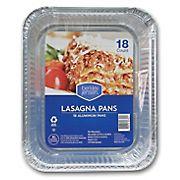 Berkley Jensen Lasagna Pans, 18 ct.