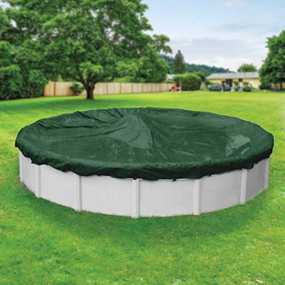 Robelle Dura-Guard 18' Aboveground Pool Winter Cover - Green