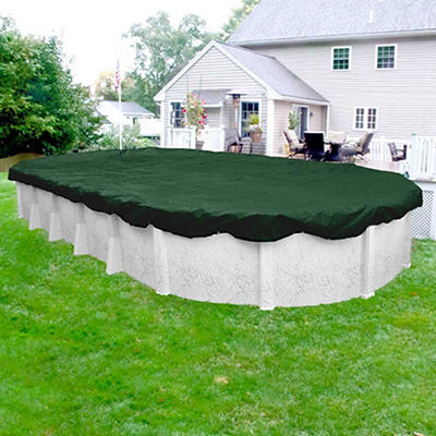 Robelle Dura-Guard 18' x 33' Oval Aboveground Pool Winter Cover - Gree
