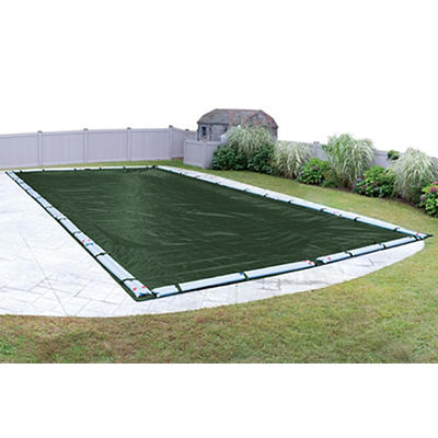 Robelle Dura-Guard 16' x 32' Inground Pool Winter Cover - Green