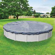Robelle Premier 24' Round Aboveground Pool Winter Cover - Slate Blue/Black
