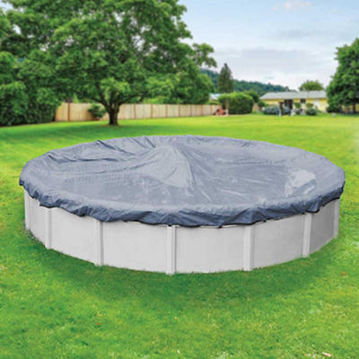 Robelle Premier 24' Round Aboveground Pool Winter Cover - Slate Blue/B