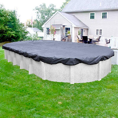 Robelle Premier 12' x 24' Oval Aboveground Pool Winter Cover - Slate B