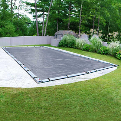 Robelle Premier 20' x 40' Inground Swimming Pool Winter Cover - Slate