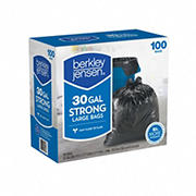 Berkley Jensen 30-Gal. .95mil Large Bags, 100 ct.