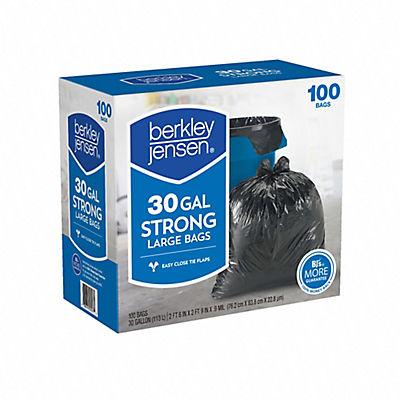 Berkley Jensen 30-Gal. .95mil Large Bags, 100 ct.