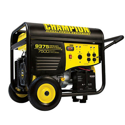 Champion Power Equipment 9,375W Peak/7,500W Rated Gas-Powered Portable