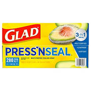Glad Press N Seal Plastic Wrap, 2 pk./140 sq. ft.