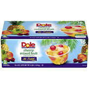 Dole Cherry Mixed Fruit Cups, 16 ct./4 oz.