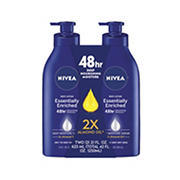 NIVEA Essentially Enriched Lotion, 2 pk./21 oz.