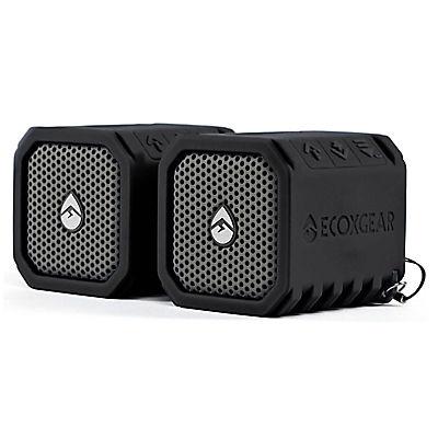 ECOXGEAR EcoDuo Wireless Waterproof Speaker, 2 pk.
