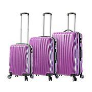 Mia Viaggi Italy Bari 3-Pc. Hardside Spinner Set - Purple