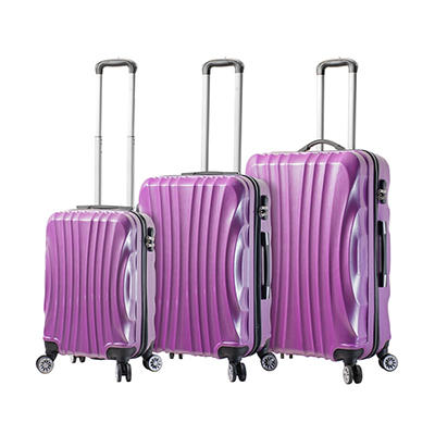 Mia Viaggi Italy Bari 3-Pc. Hardside Spinner Set - Purple