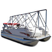 "Navigloo Storage System for 14-18'6"" Pontoon Boats, Fishing Boats and Runabouts Without Tarp"