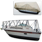Navigloo Storage System for 23-24' Cuddy Cabin Runabouts with 19' x 32' Tarpaulin