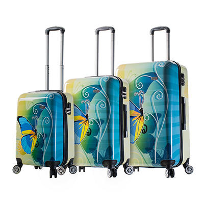 Mia Viaggi Italy Butterfly 3-Pc. Hardside Spinner Set