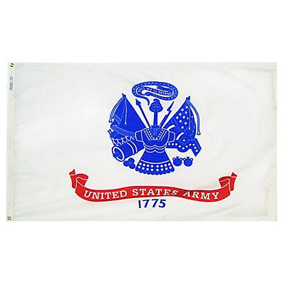 """Annin 72""""L x 48""""W Nyl-Glo US Army Flag"""