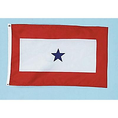 "Annin 60"" x 36"" Blue Star Service Flag"