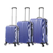 Mia Viaggi Italy Bari 3-Pc. Hardside Spinner Set - Blue
