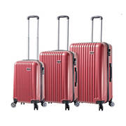 Mia Viaggi Italy Lucca 3-Pc. Hardside Spinner Set - Red