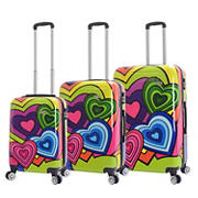 Mia Viaggi Italy Pop Heart 3-Pc. Hardside Spinner Set