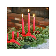 InBloom Christmas Classic 3-Candle Centerpiece