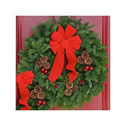 "InBloom Christmas Classic 24"" Wreath"