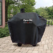 """Dyna-Glo Premium Medium Charcoal Grill Cover for 51"""" Grill with Smoke Stack"""