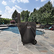 "Dyna-Glo Barrel Charcoal Grill Cover for 37"" Grill with Smoke Stack"
