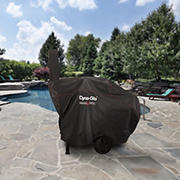 "Dyna-Glo Barrel Charcoal Grill Cover for 51"" Grill with Smoke Stack"