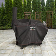 "Dyna-Glo Barrel Charcoal Grill Cover for 75"" Grill with Smoke Stack"