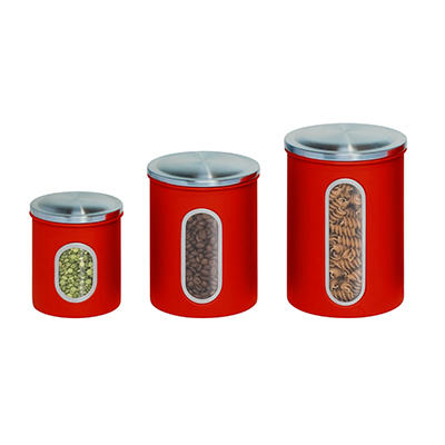 Honey-Can-Do 3-Pc. Nesting Canister Set