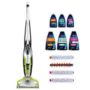 BISSELL Crosswave All-In-One Multi-Surface Cleaner with BONUS Brush Rolls and Cleaning Formula Bundle