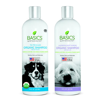 Basics by NXT Generation Pet Lavender and Tea Tree Shampoo for Dogs, 2