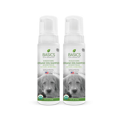 Basics by NXT Generation Pet Waterless Foaming Dog Shampoo, 2 pk./7.5