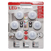 Honeywell LED Multicolor Accent Light Set, 6 pk.