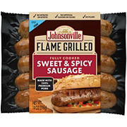 Johnsonville Flame Grilled Fully Cooked Sweet & Spicy Sausage, 28 oz.